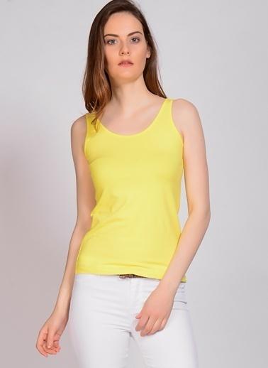 Fresh Company Fresh Company Askılı Kadın Atlet Sarı
